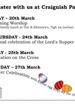 Easter Services in Craignish