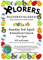 Xplorers Eggstravaganza! Easter for all the family on 3rd April
