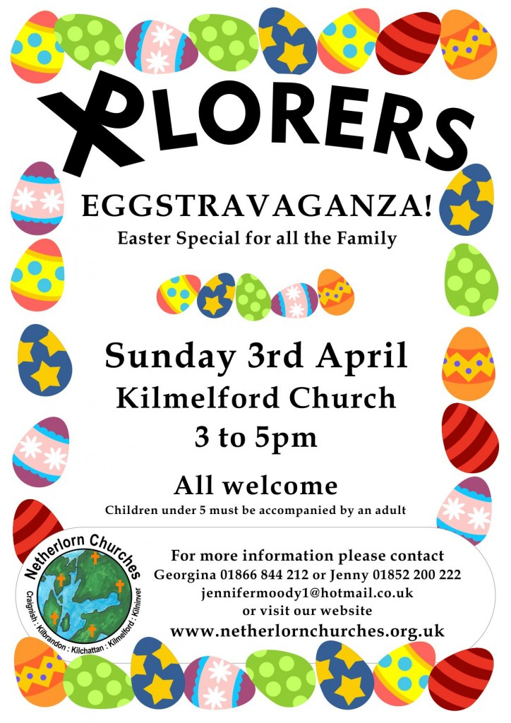 XPlorers Eggstravaganza 5th April