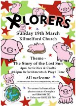 Xplorers for Children, 19th March