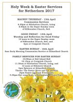 Easter Services across Netherlorn Parishes