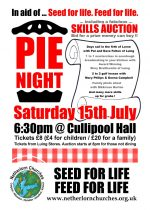 Pie Night with Skills Auction!  15th July