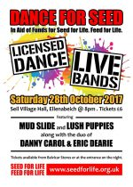 Dance for Seed, 28th October
