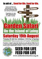 Garden Safari, 19th August