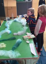 Edible gardens and bubble snakes at Messy Church
