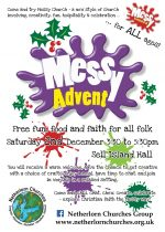 Messy Advent! Saturday 2nd December