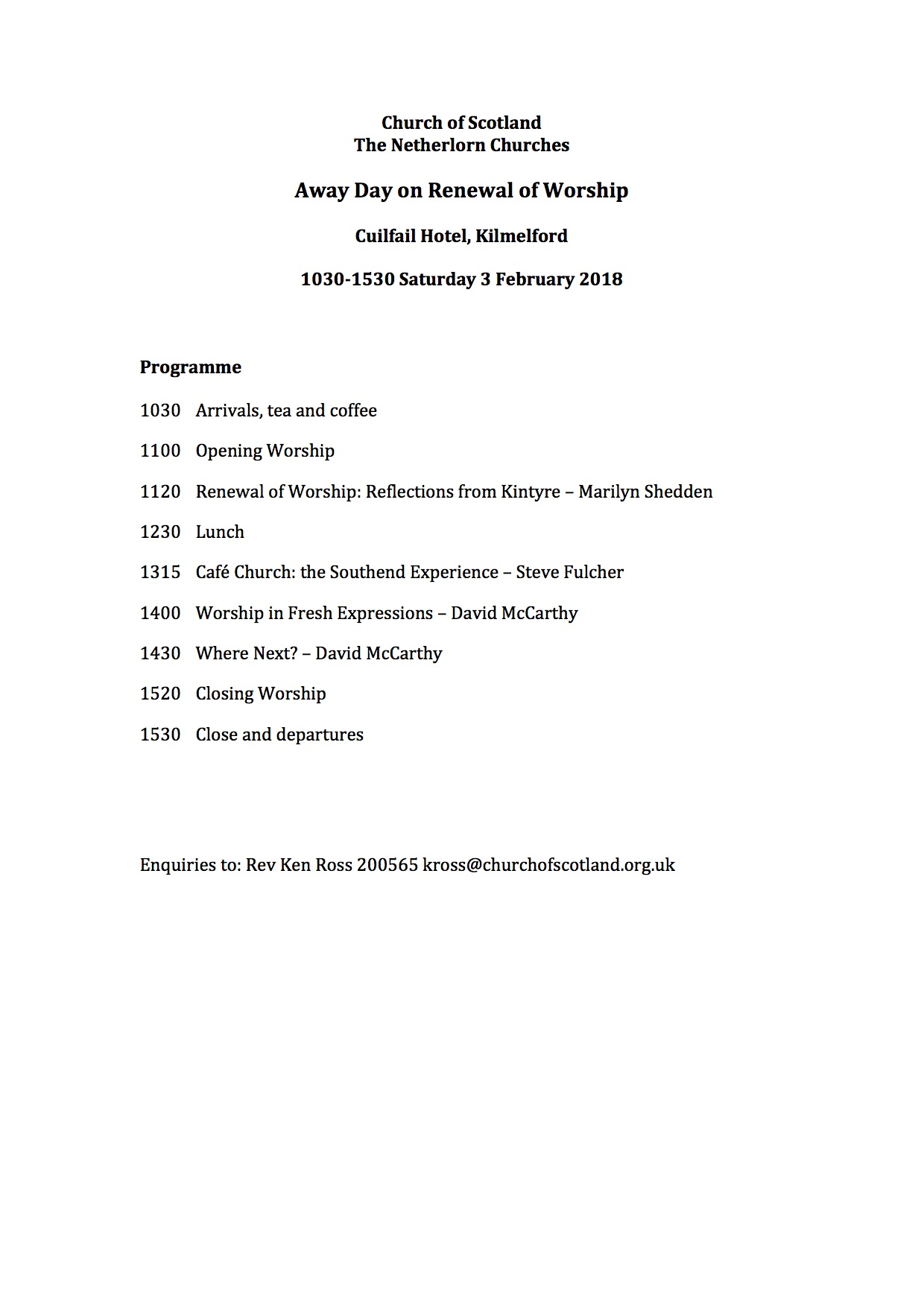 Kilbrandon – Page 3 – Netherlorn Churches