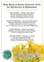 Easter Services in Kilbrandon & Kilchattan