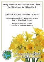 Easter Services in Kilmelford & Kilninver