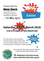 Messy Easter, 24th March