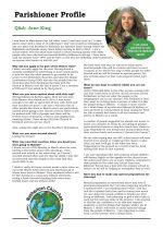 Parishioner Profile:  Jane King