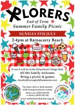 End of term family summer picnic, 8th July