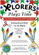 Xplorers Playz Time, 8th September