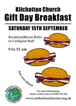 Kilchattan Church Gift Day Breakfast, 15th September