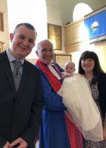 Evie Grace Gilmour, baptised at Craignish Parish Church, 23 September 2018