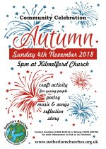 Autumn Community Celebration, 4th November