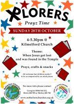 Xplorers Prayz Time, 28th October