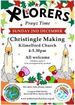 Xplorers Christingle, 2nd December