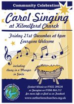 Community Celebration, Carol Singing, 21st December