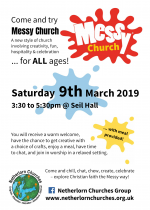 Messy Church, 9th March
