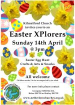Easter Xplorers, 14th April