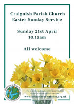Craignish Easter Service