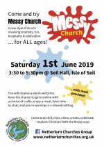 Messy Church, 1st June