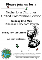 Netherlorn Churches United Communion Service, 19th May