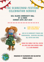 The Scarecrow Festival Celebration Service, 28th July
