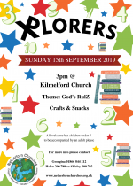 Xplorers, 15th September