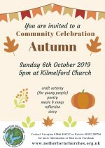 Autumn Community Celebration, 6th October