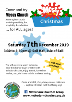 Messy Church Christmas, 7th December