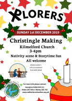 Xplorers Christingle, 1st December