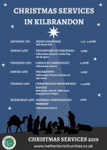 Christmas Services, Kilbrandon Church
