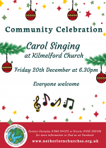 Community Celebration, Carol Singing, Kilmelford, 20th December