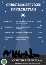 Christmas Services, Kilchattan Church