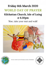World Day of Prayer, Kilchattan Church, 6th March