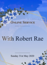Pentecost Sunday, 31st May led by Robert Rae
