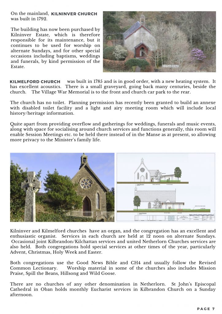 8. FINAL - The Netherlorn Churches Parish Profile