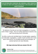 We are seeking a Minister